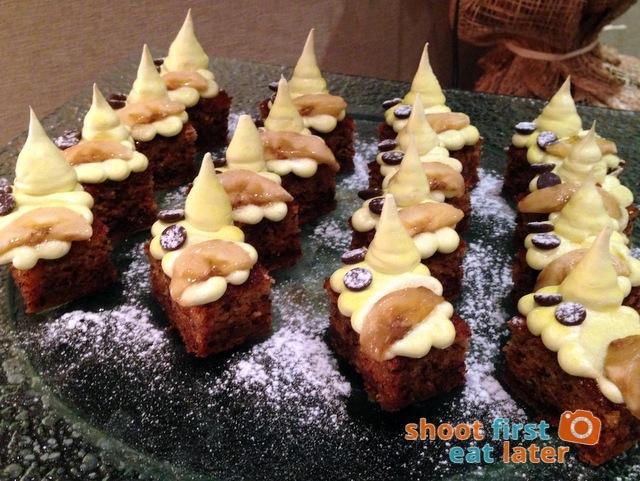 Oakroom Restaurant and Bar- banana cake