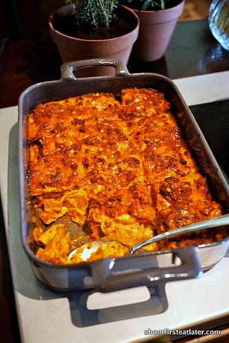 meat ragout lasagna