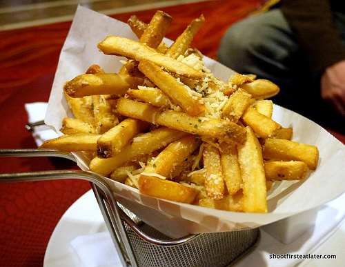 bistro fries w/ parmesan & parsely