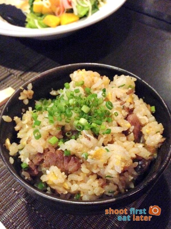 Toki Japanese REstaurant- wagyu fried rice P350