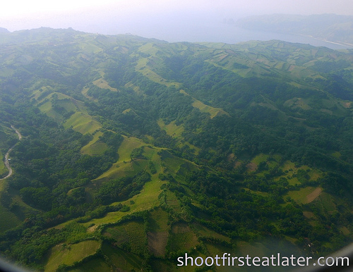 Batanes from the plane