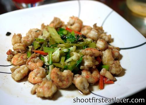 Cohen Lifestyle Seafood Meals- shrimp & veggies