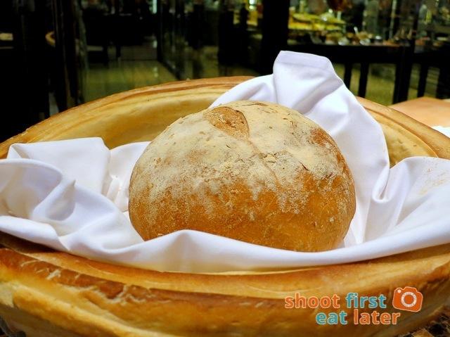 Spiral Buffet- Spiral's olive bread