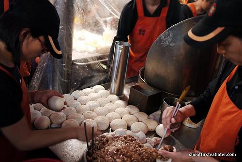 Hu Jiao Bing Black Pepper Pork Buns-1