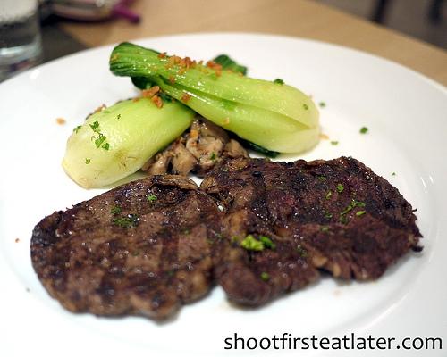 Myron's Cohen steak dinner