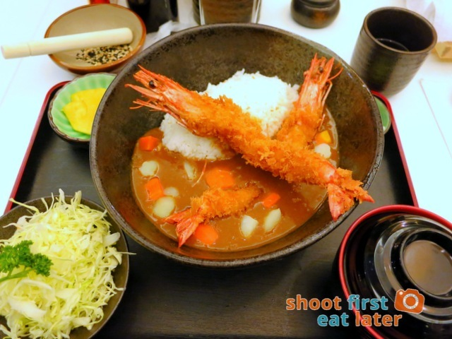 Ginza Bairin Philippines- ebi curry fry set