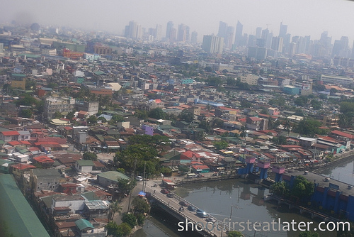 Manila from the plane-2
