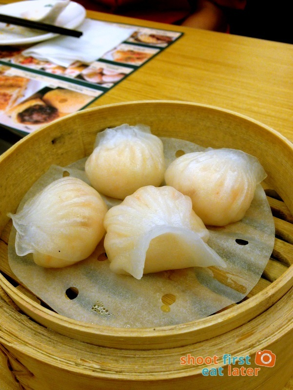 Tim Ho Wan Manila- Prawn Dumpling P160