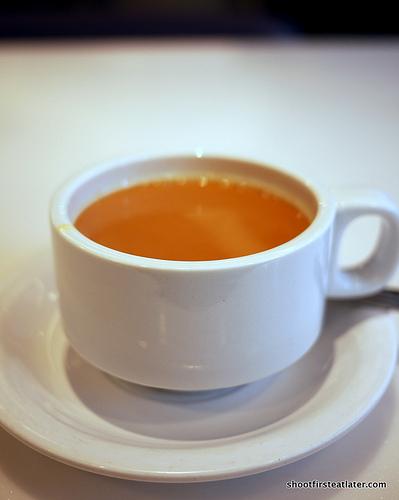 Tai Hing's hot milk tea