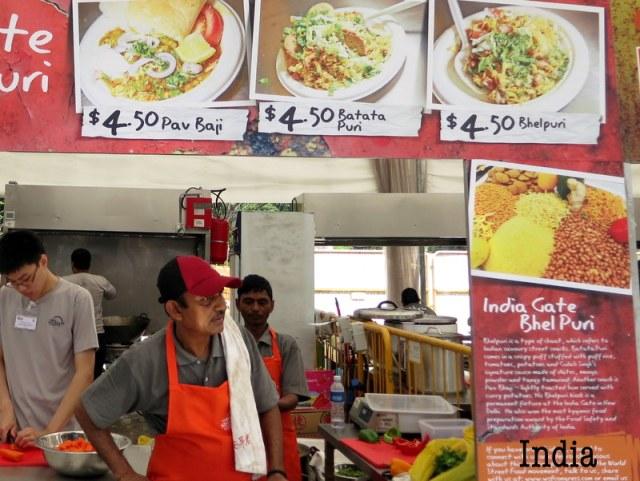 India's bhelpuri and batata puri