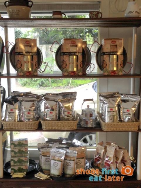 Connie's Kitchen Deli - coffee beans, coconut sugar, paella mix