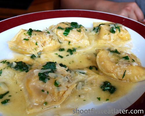 Roasted Butternut Squash-Marscarpone Ravioli