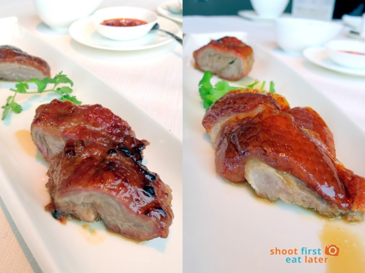 Tin Lung Heen - Char-Grilled Barbecued Iberian Pork & Roasted Barbecued Goose