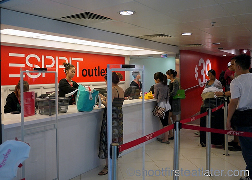 Esprit Outlet, Mong Kok, Hong Kong-1