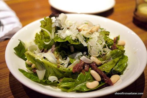 arugula cannellini salad