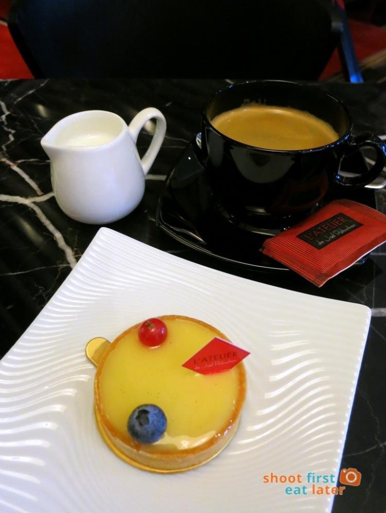 Le Salon de Thé de Joel Robuchon (Elements HK)- citron tarte HK$44, coffee HK$55