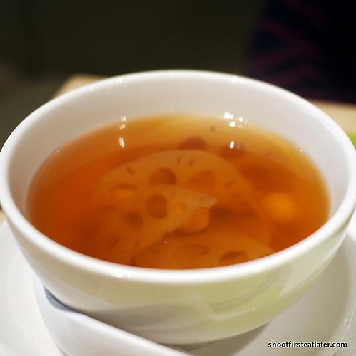 lotus root & barley drink