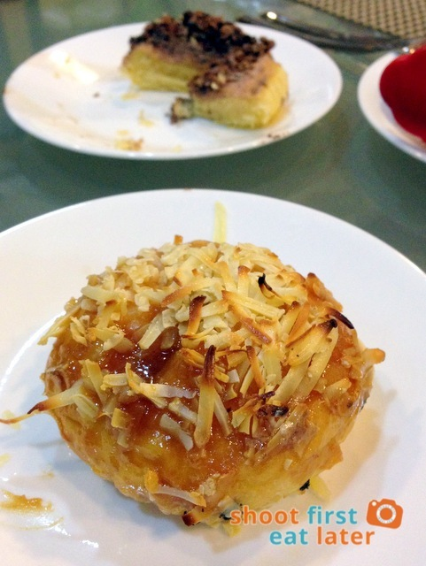 Hey Gourmet! Ensaymadas- Salted Caramel Cheese ensaymada