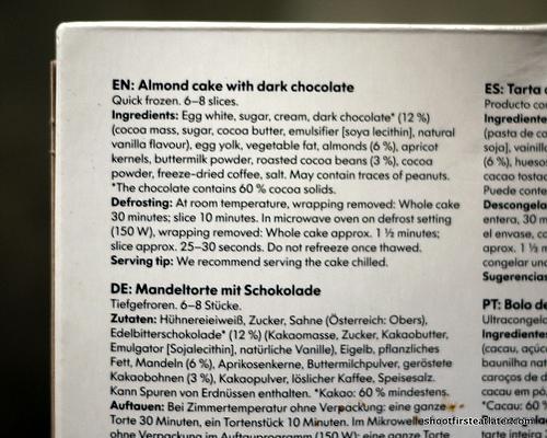 Ikea Almond Cake w: Dark Chocolate-4