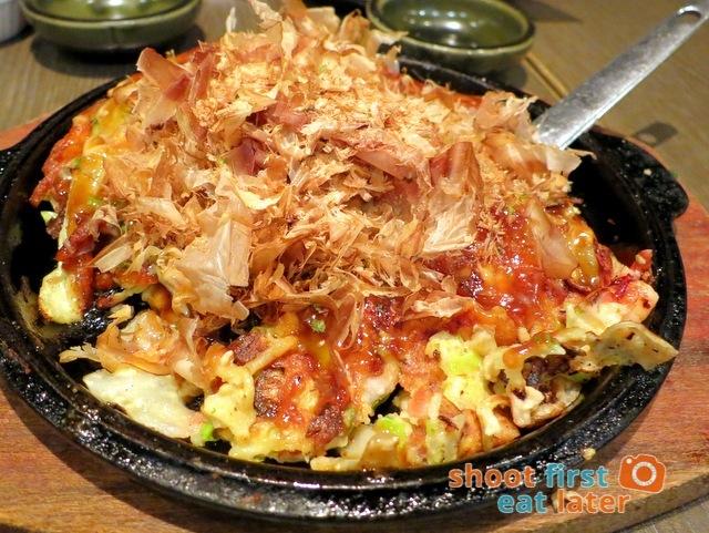 Watami HK- Hiroshima style okonomiyaki HK$53