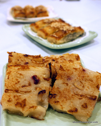 pan fried turnip patties