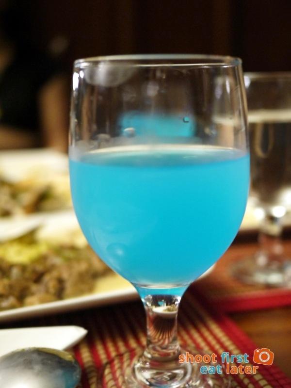 Antojos Restaurante- Blue Lemonade
