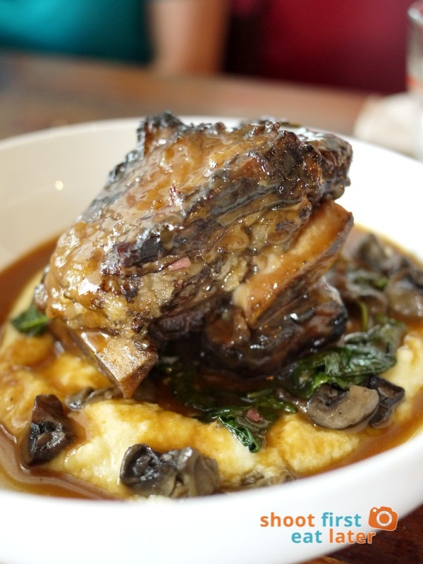 Wildflour Cafe + Bakery (Fort Bonifacio)- Braised Beef Short Ribs P810