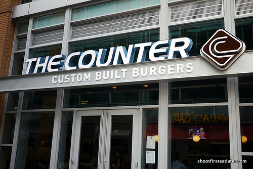 The Counter burgers