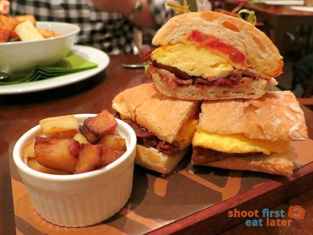 breakfast hangover sandwich