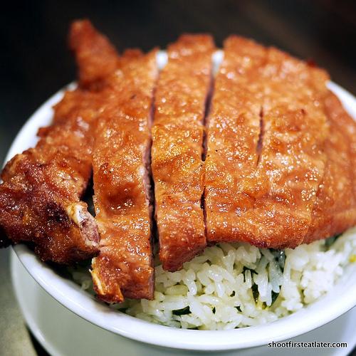 pork rib w/ veggie rice