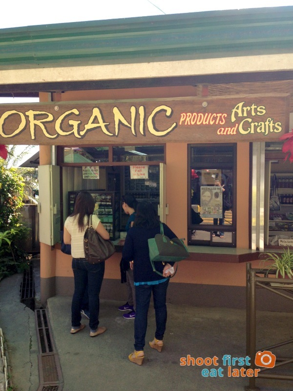 Organic Products at Good Shepherd Baguio