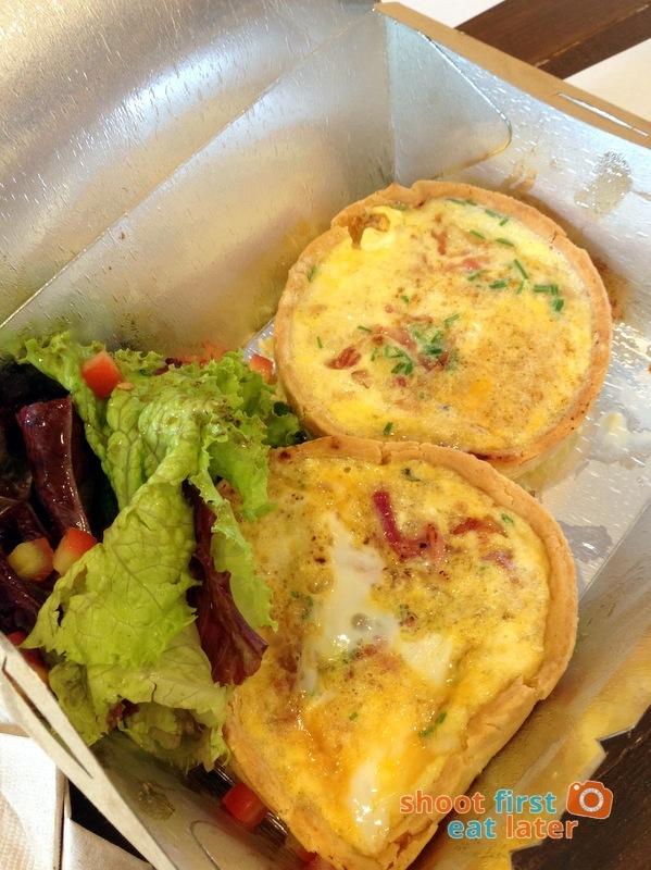 Harina Artisan Bakery Cafe - Quiche Lorraine P230