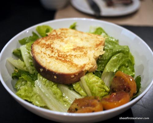 Rothko Caesar salad