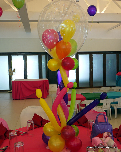 Lucy's 1st birthday at Green Meadows Clubhouse-5