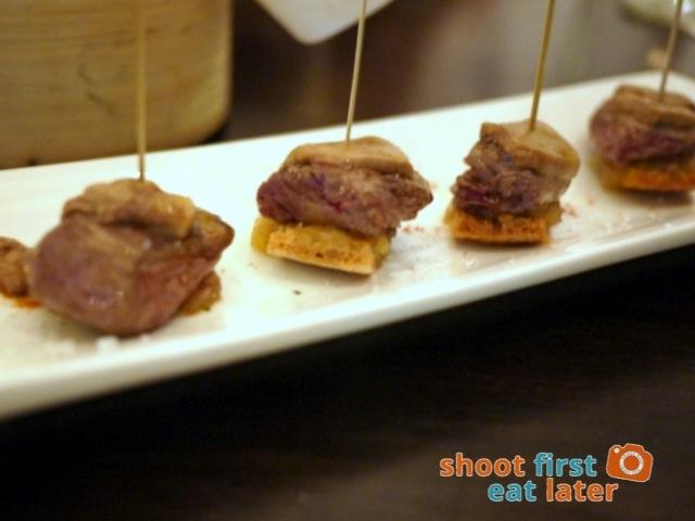 angus & foie minis P825