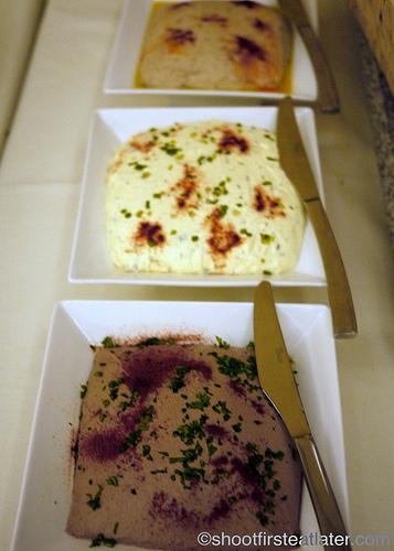 Hamilo Coast buffet lunch- trio of dips