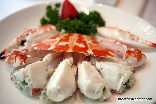 cold crab Chiu Chow style