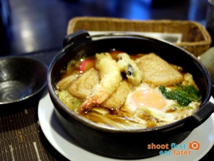 Toki Japanese REstaurant- nabeyaki udon P460
