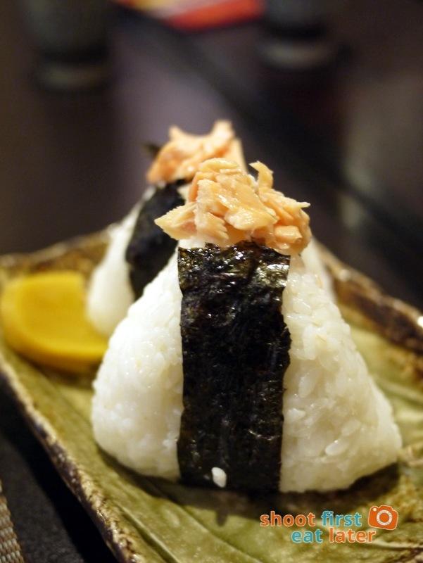 Toki Japanese REstaurant- shake onigiri P180