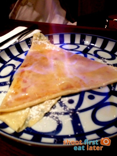 Cafe Breton - crepe Suzette
