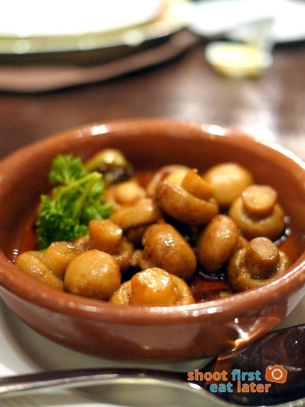 Costa del Sol (The City Club)- Mushroom with Garlic P220
