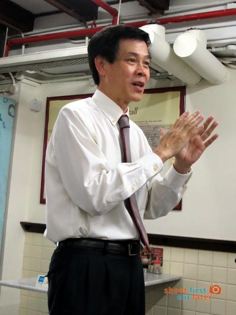 chairman of Ya Kun Kaya Toast Mr. Adrin Loi Boon Sim
