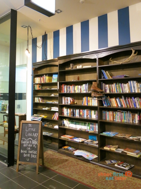 Melbourne Central's Little Library-001